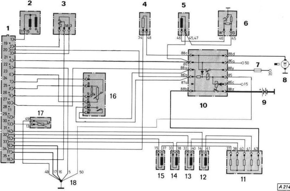 L jetronic schema