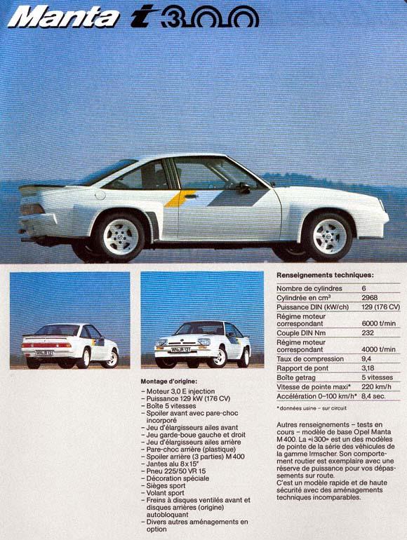 Irmscher Opel Manta i300