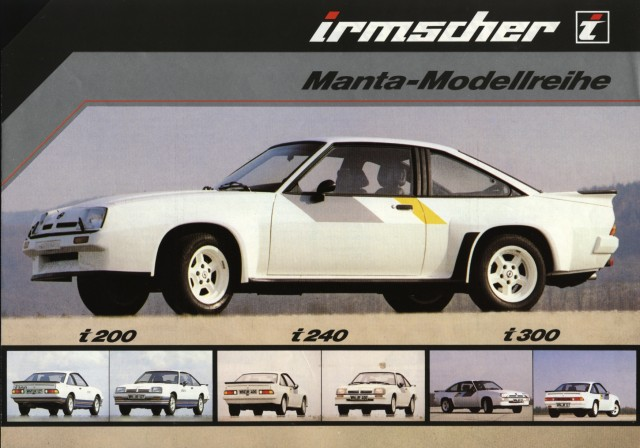 Irmscher Opel Manta B modellen