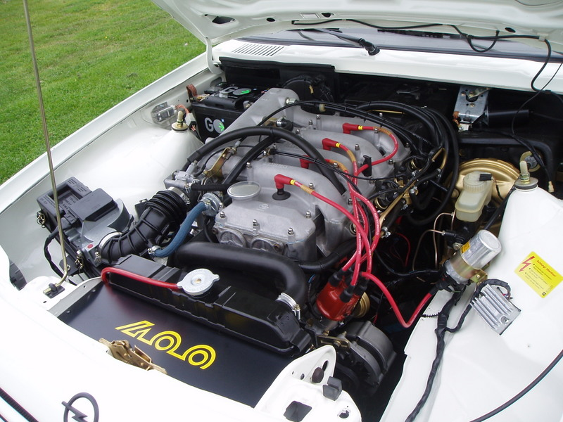 Manta 400 B2 motor