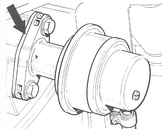 Benzinepomp pakking bij brandstofpomp carburateur motoren