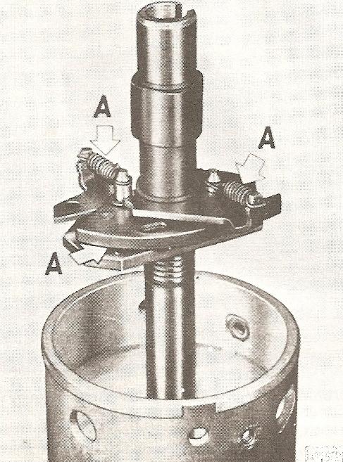 centrifugaal vervroeging smeren
