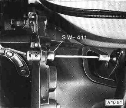 sw-411 meting koppelingsvork